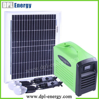 Efficiency ac output small solar lighting kits solar for Energy efficiency kits