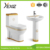 A3110A&D604A ceramic factory colored toilet basin combination bathroom china set
