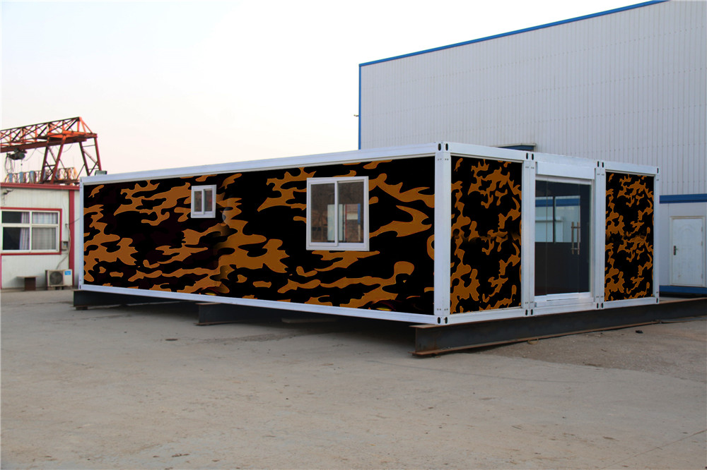 insulated demountable sandwich panel well designed flat pack container house price