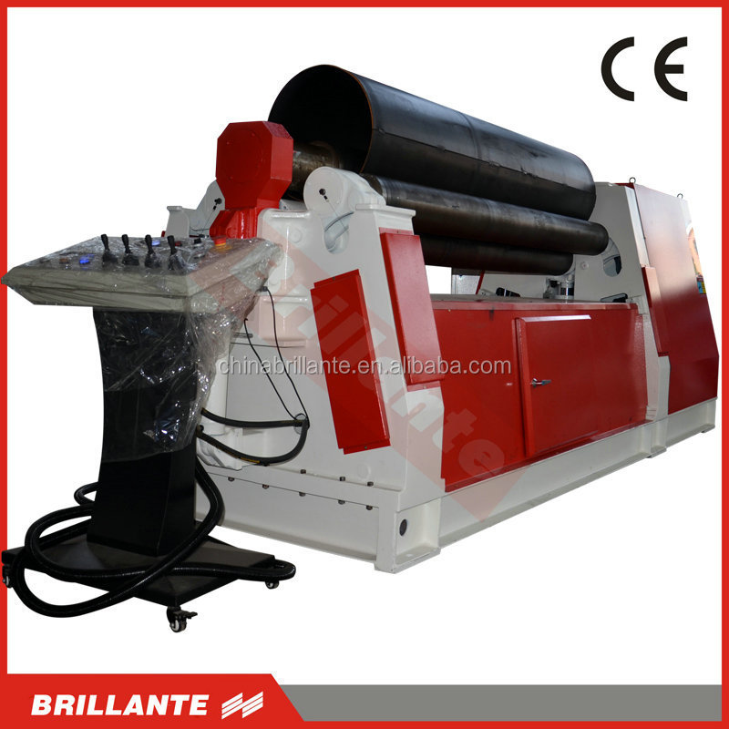 HYDRAULIC SHEET METAL 4 ROLL BENDING ROLL MACHINE WITH PRE-BENDING AND CONE ROLLING CAPABILITY