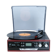 New Multiple function, all in one DJ turntable Player with USB SD bluetooth function