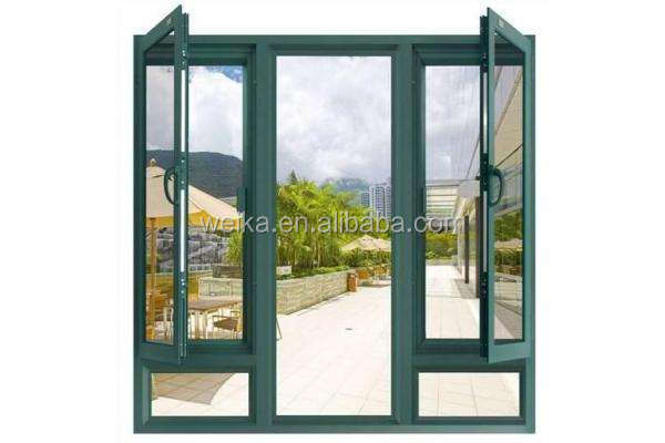 China industry WEIKA sliding window and door PVC WINDOW aluminum window grill design