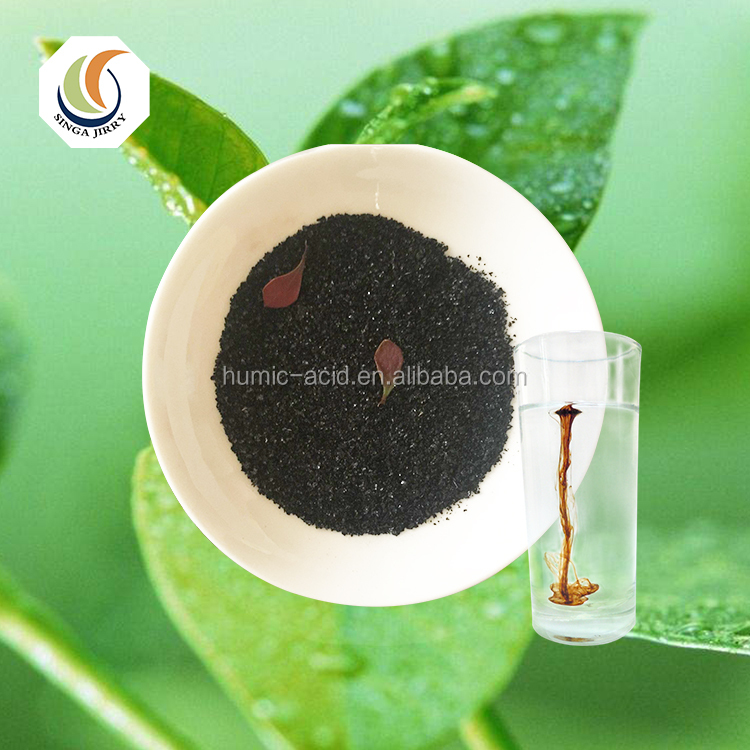 High quality organic fertilizer water soluble food grade fulvic acid