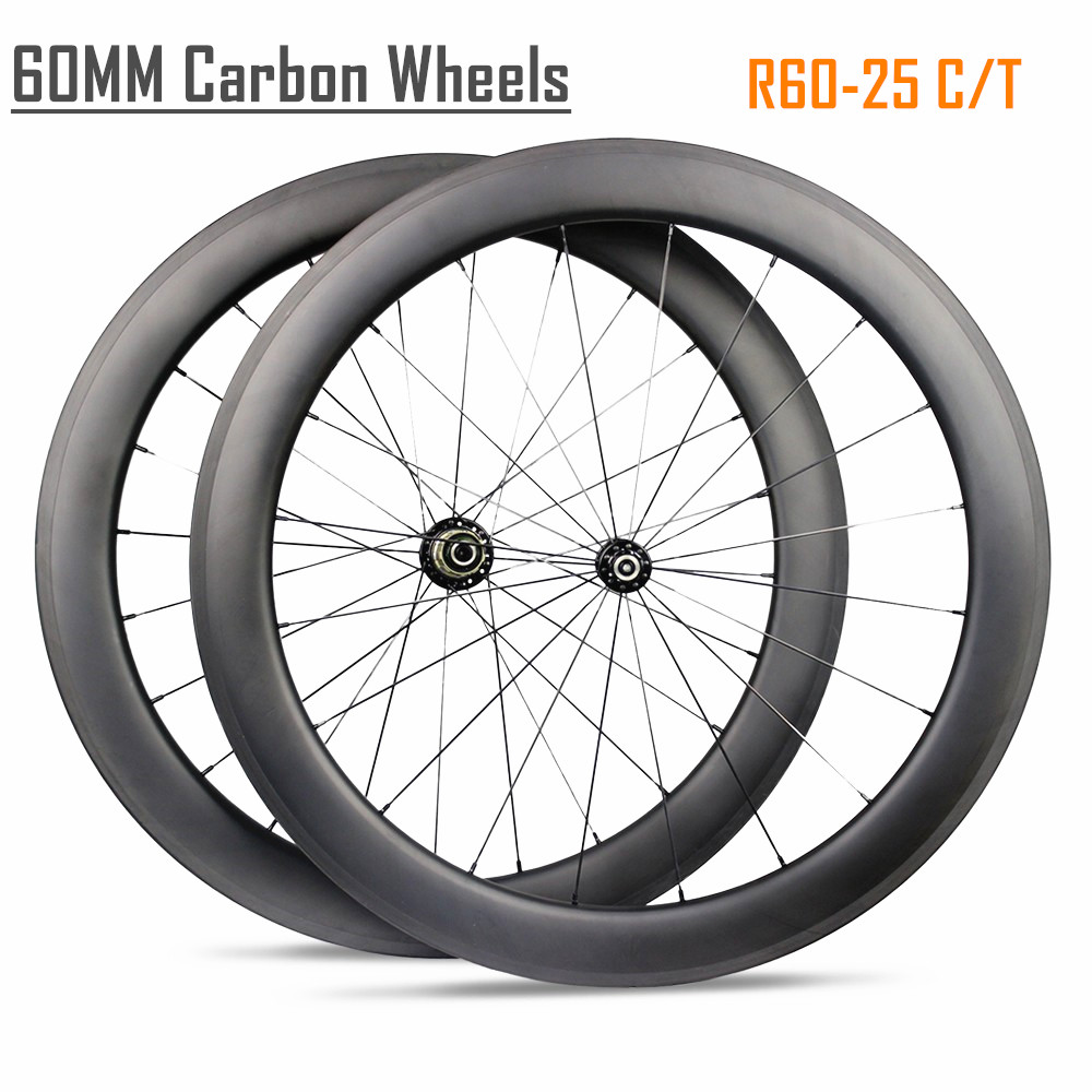bike accessories 18/<strong>21</strong> holes spoke pattern 60 mm carbon wheels blade spoke carbon road bike powerway r13 hub 60mm