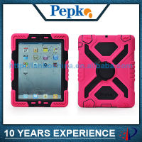 shockproof dropproof protective case for ipad 4 3 2