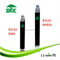 Wholesale price rechargeable ego electronic cigarette ego 900mah battery Ego vape pen battery