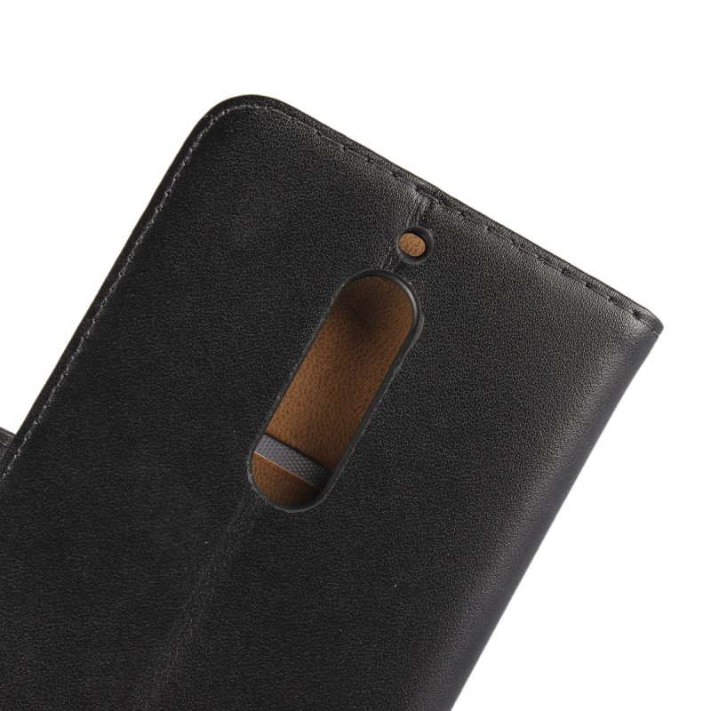 New Products 2017 Phone Accessory Regenerated Leather Wallet Flip Stand Cover for Nokia 5 Phone Case