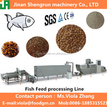 Apply to pond fish or home fish floating fish feed processing line