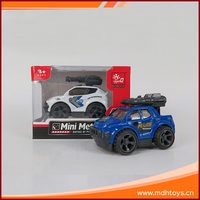 Custom made children gift police style miniature model diecast car