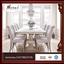 Customized Top Quality 6 Chair Dining Table Set