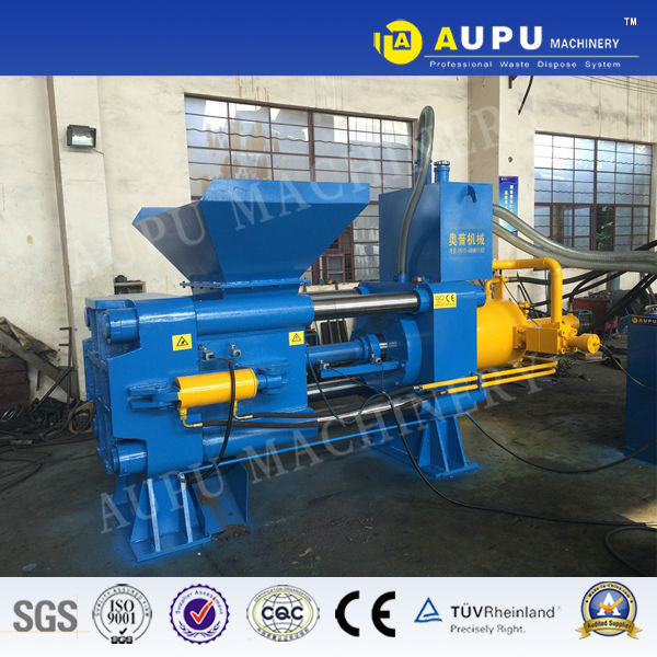 new manufacture hydraulic scrap metal chip compactor