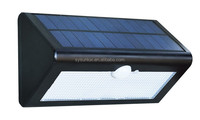 For Outdoor Solar Led Wall Mounted Light With PIR Motion Sensor