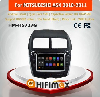Hifimax Android 5.1 multimedia car entertainment system for mitsubishi asx car gps multimedia systems for cars