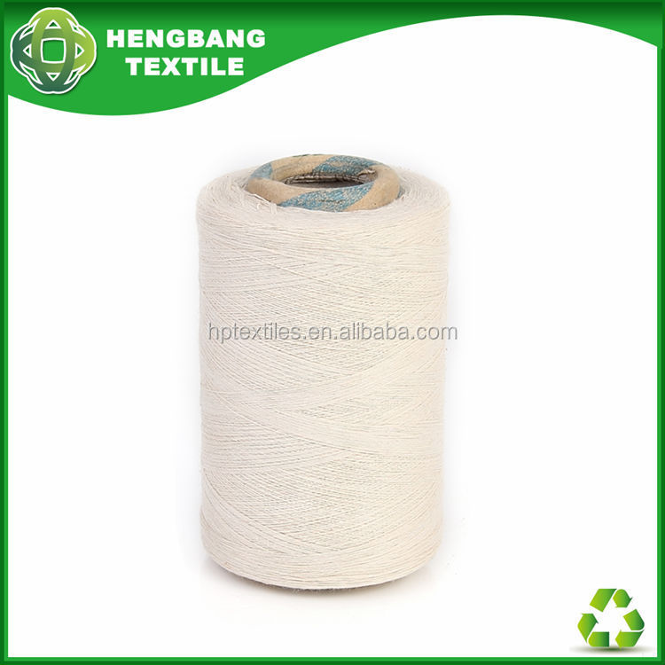 HB1167 recycled polyester cotton open end very cheap wholesale china cotton yarn for mops