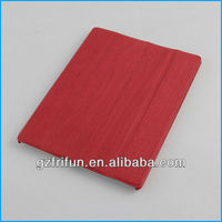 Red wood thin hot sell leather case made in china