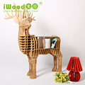European Style Wooden Deer hotel decoration