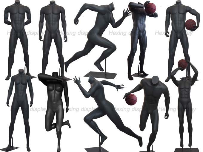 Sports Apparel Male Basketball Mannequin Torso