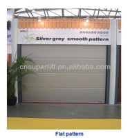 PPGI Skin sectional sandwich garage door panel