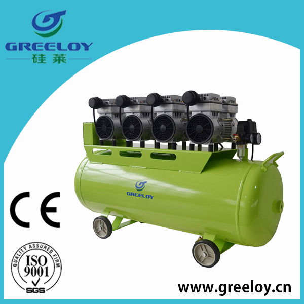 industry used 3 hp portable air compressor 120l