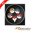 2016 hot selling beautiful pokemon go badge holder pin badge with 5 designs