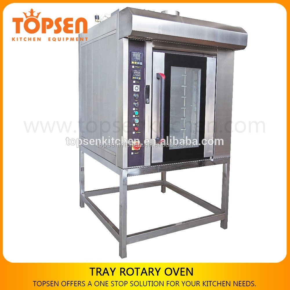 2016 New Baking Digital Control Broad Revolving Tray Oven