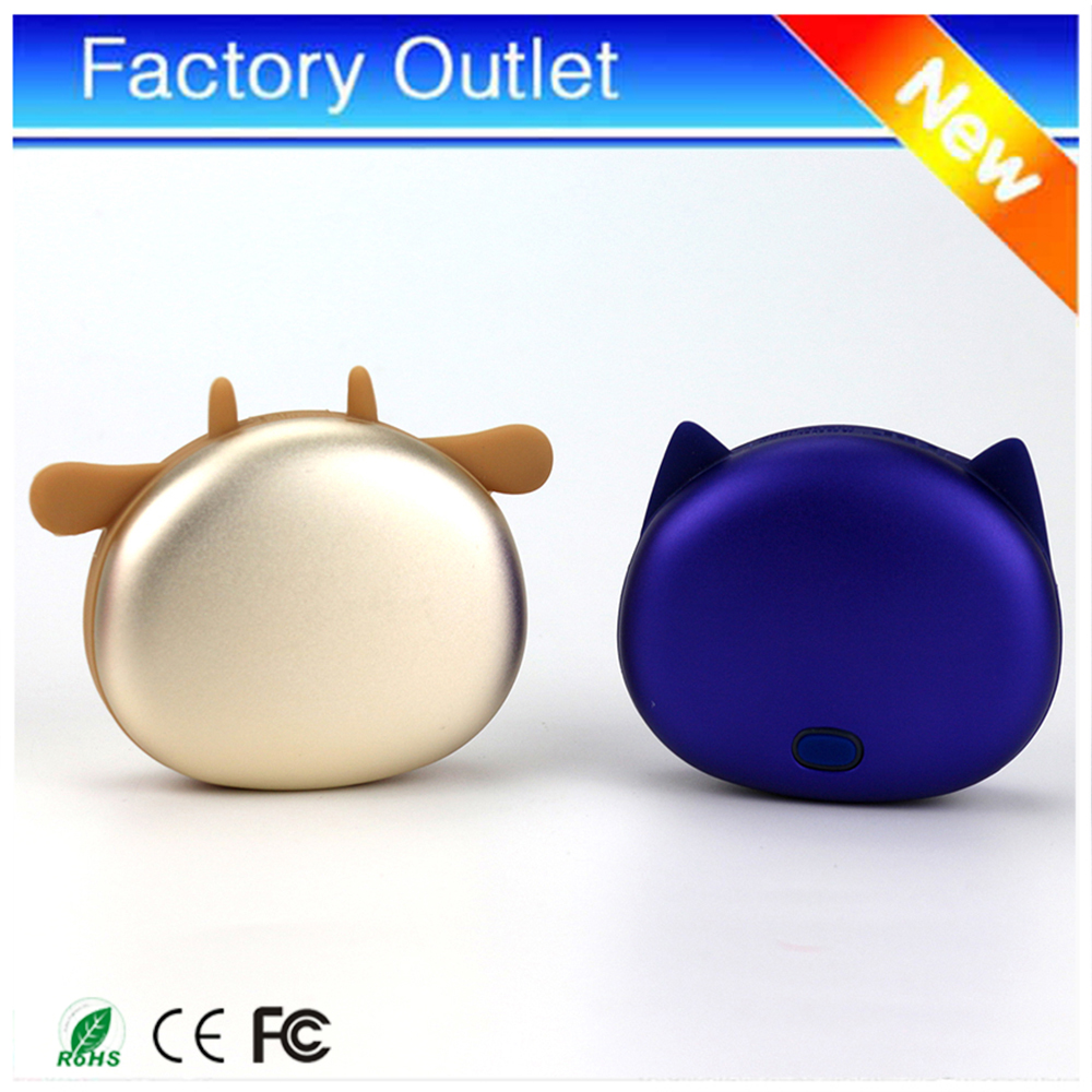 Online shopping hong kong warmer mobile power charger 4500mah supply