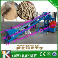Warranty for 5 years of 0.8~4 T/H vertical ring die olive wood pellet mill hot sale in europe