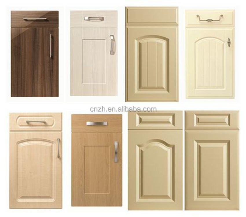 Billige Mdf Pvc Küchenschrank Tür Preis-Möbel Der Küche