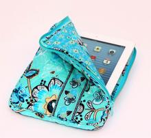 Popular 2017 wholesale flower print promotional quilted cotton fabric mini pad covers