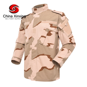 Xinxing Stock Pinkish Three Desert Camo Tactical ACU Military Uniform Army Camouflage Combat Uniform YL03