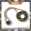 China well made cheapest motorcycle chain and sprocket