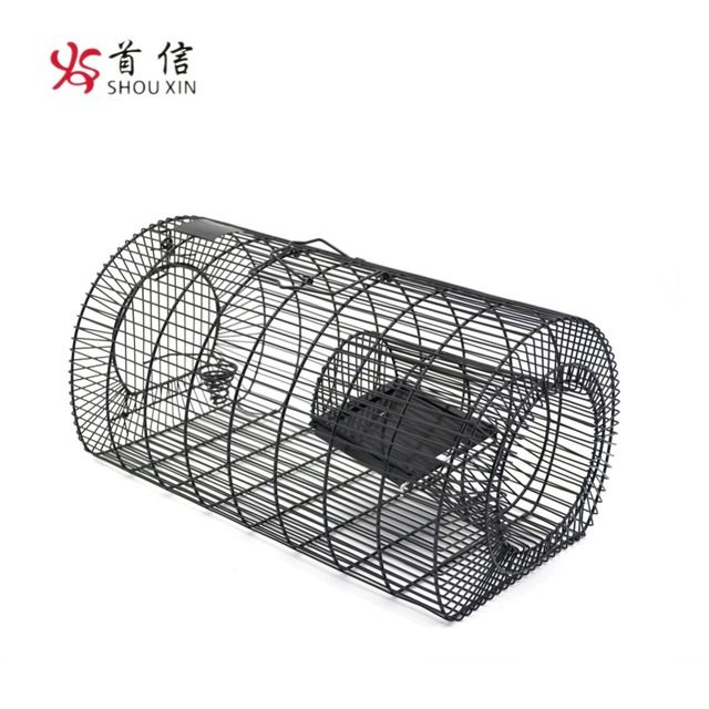 Release Live Catch Metal Rodent Cage for Mouse Mice and Rats