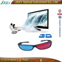 Low price plastic 3D glasses for watching 3D films,playing 3D games