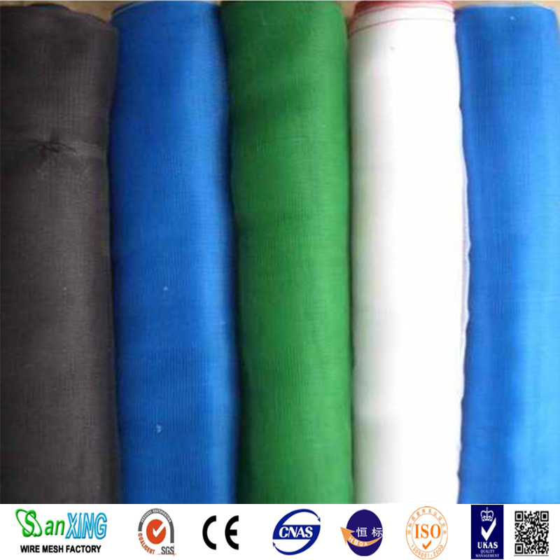 Anping Factory professional high quality and fairest price 16x18 green plastic window screen