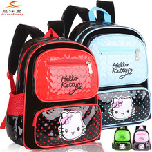 1383 Best selling School bags in 2015 Cute Hello kitty kids School backpack for child