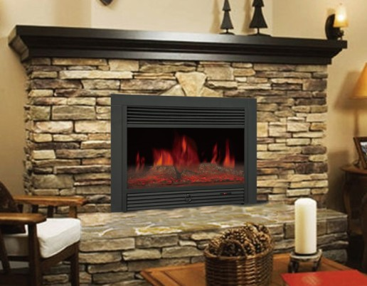 "28"" Insert Electric Fireplace Best Sales for 2016 US Market"