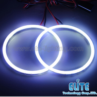 Super bright 90mm full circle led angel eyes ring on hot sell