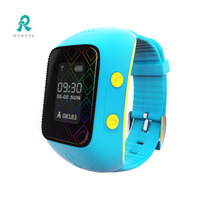 wrist watch gps tracking device for kids with cell tracker software R12
