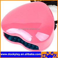 3W 100-240V LED Light Nail Dryer Heart Shaped Curing Nail Art Lamp Care Machine for UV Gel Nail Polish