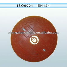 EN124 pvc manhole covers for drainage/sewerage
