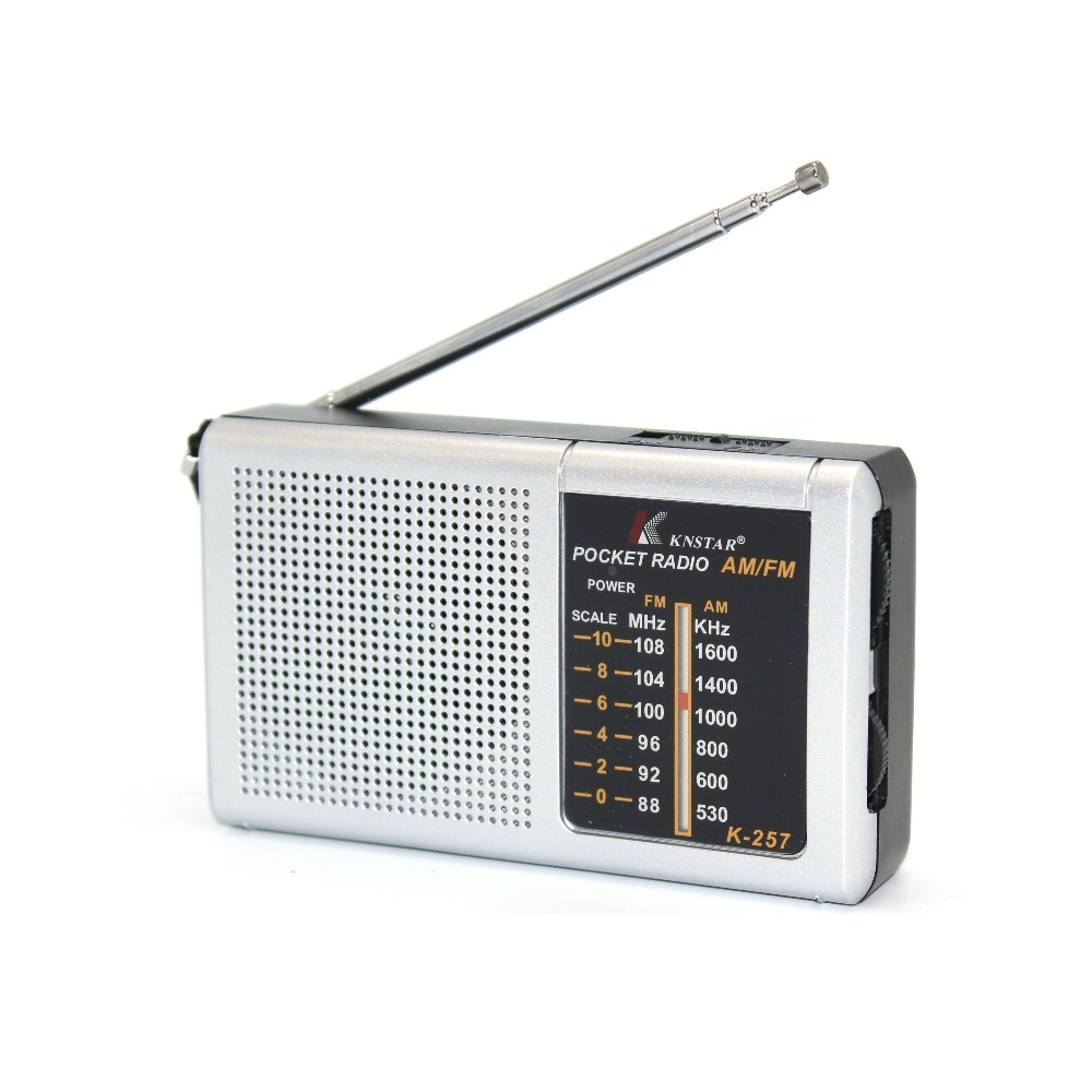 AM FM Mini Pocket 2 Band Radio Receiver