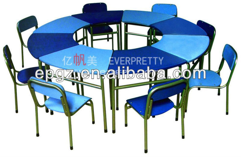 Classroom Table And Chairs classroom table and chair set /comfortable fashionable school desk