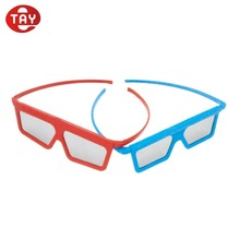 Passive Circular Polarized Disposable 3D Glasses for Cinema or Passive 3D TV