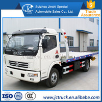 China best selling Dongfeng DLK 5ton Road Recovery Flatbed tow truck for sale
