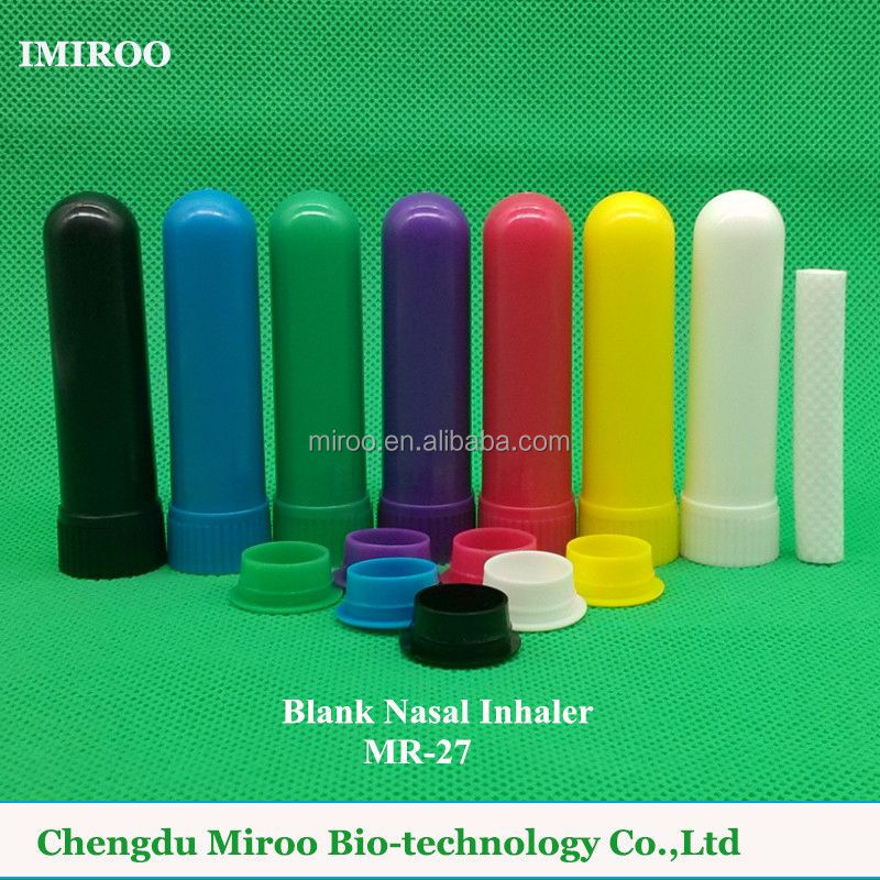 Medical Grade Nasal Plastic Inhaler Sticks, Plastic Container, Plastic bottle