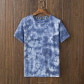100% cotton tie dye t-shirts for men, men unique tie dye slim fit t shirt