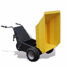 Small agricultural machinery electric motor hydraulic mini dumper