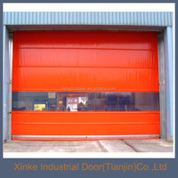 Modern Industry Automatic PVC High Speed Rolling Screen Door HSD-037