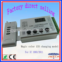133 changing model RF Dream-color led rgb pixel dmx controller