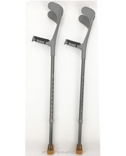 Comfortable Adjustable Aluminum Forearm Crutches Elbow Crutches for Elderly for the Disabled--CE FDA approved